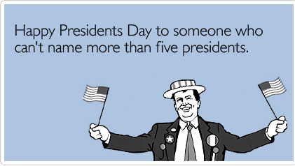 Presidents Day Meme