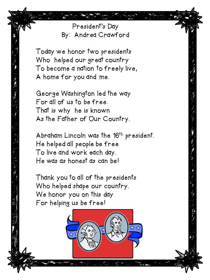Presidents Day Poem