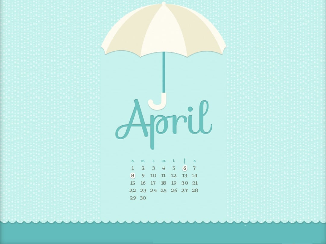 Calendar April 2018