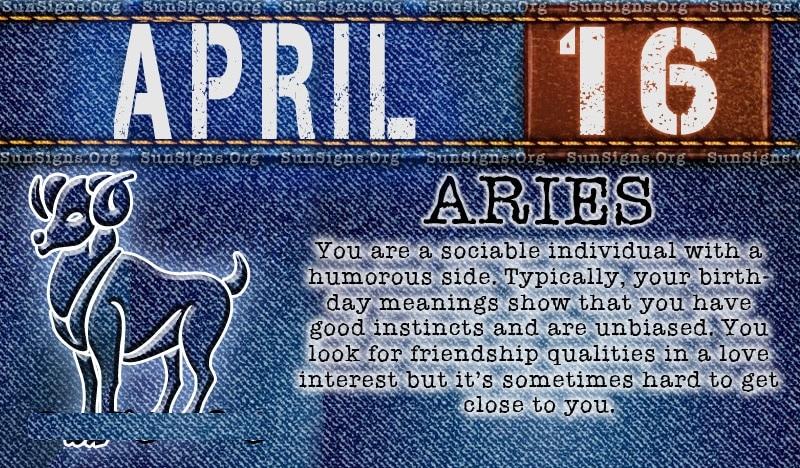 April Birth Sign