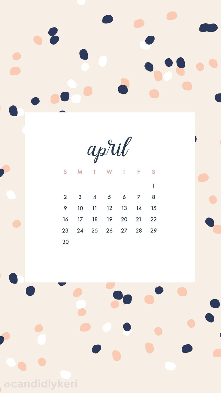 Calendar Wallpaper With Notes : Calendar april word quote images