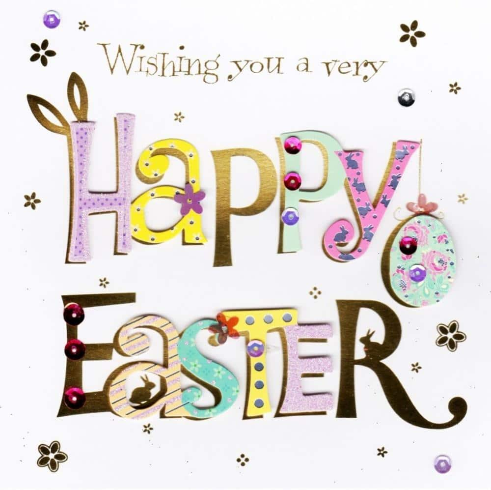 Easter greeting card sayings free hd images easter banner greeting card m4hsunfo