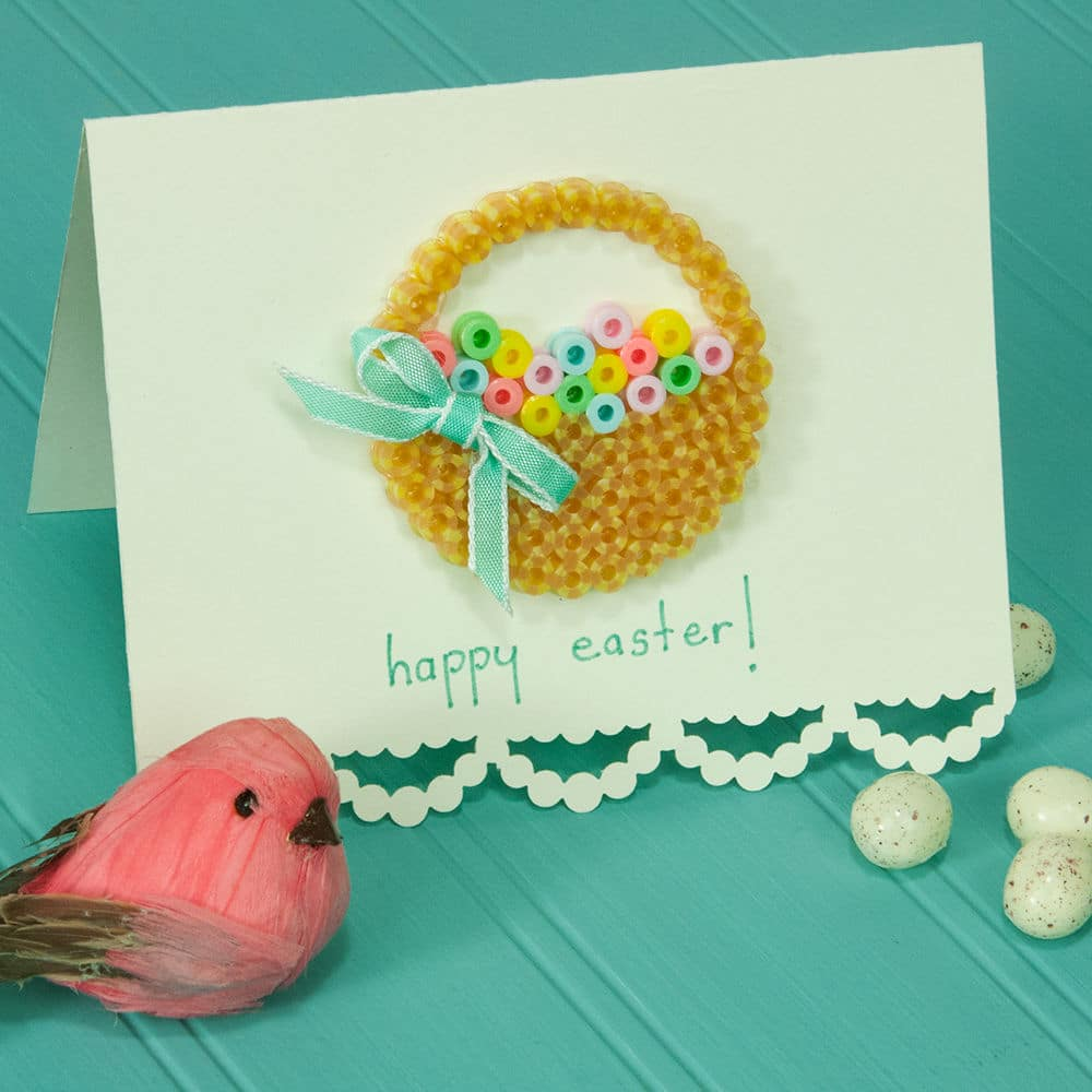 Easter Banner Greeting Card