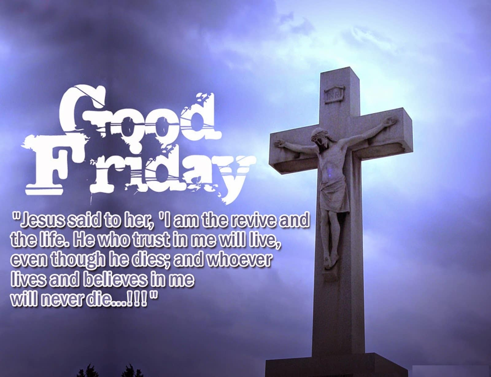 Good Friday Greeting Card Images Free Hd Images