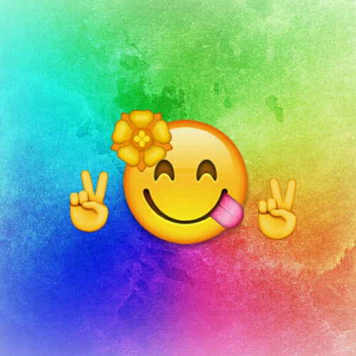 Happy Holi Emoji 2018