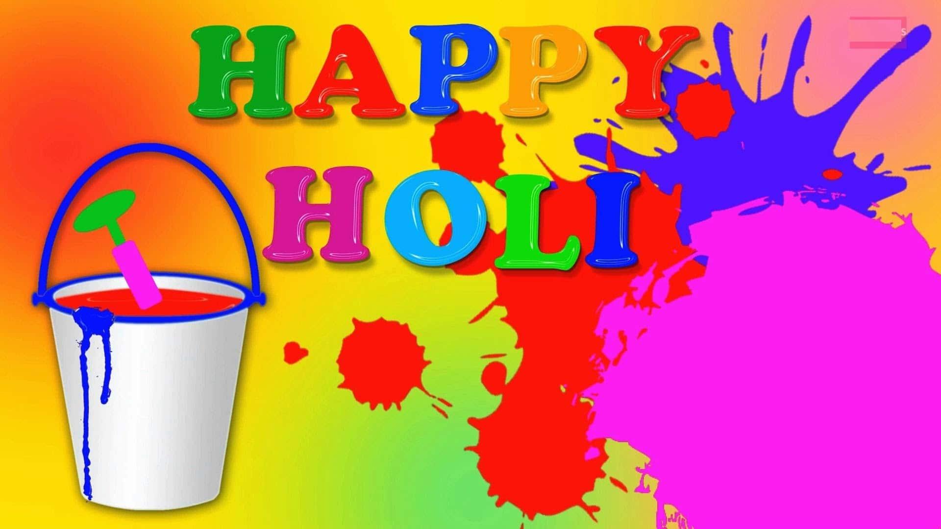 Happy Holi Greeting Cards 2018