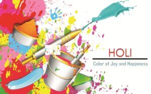 Happy Holi HD Image 2018