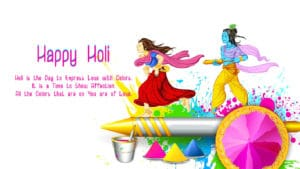 Happy Holi HD Image 2018