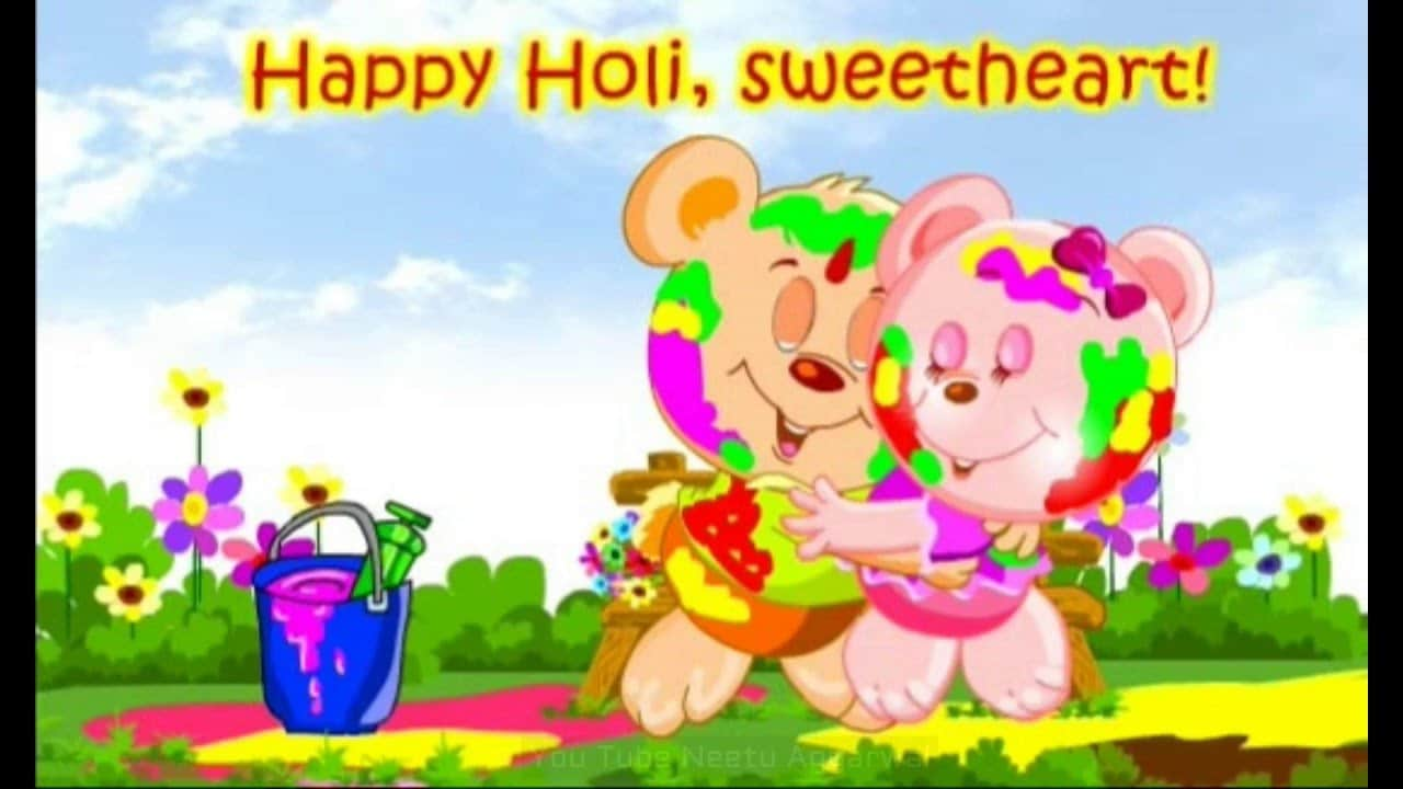 Happy Holi Love Images 2018