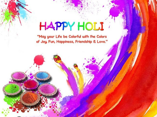Happy Holi Messages 2018