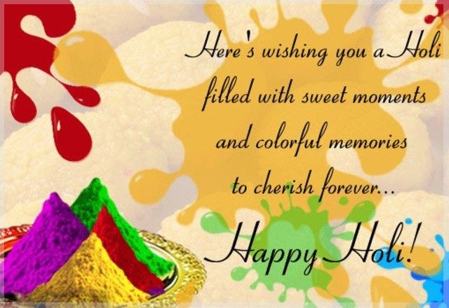 Happy Holi SMS 2018