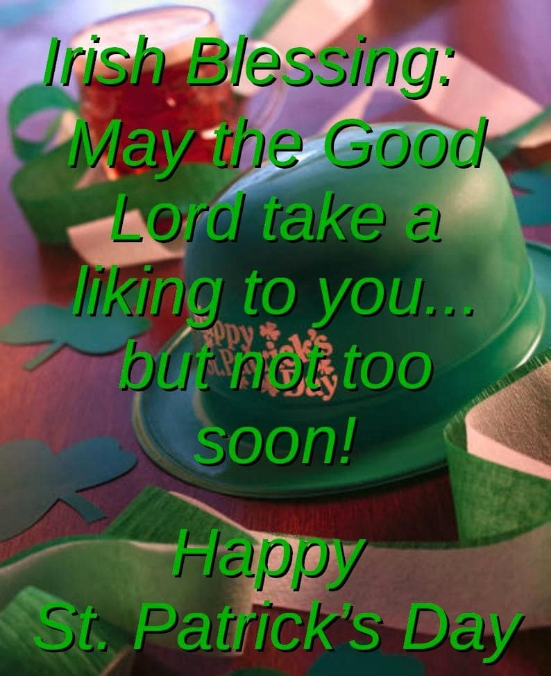 Saint Patrick's Day Blessings