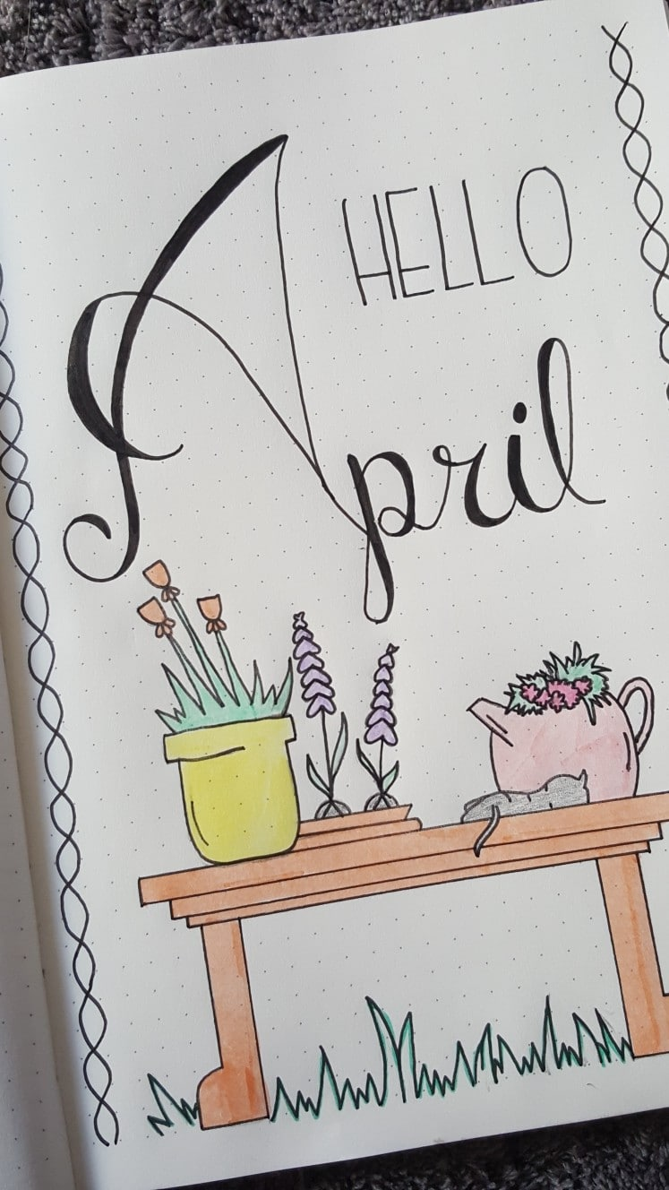 Hello April Image
