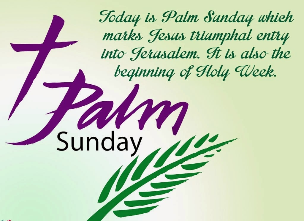 Palm Sunday Scripture
