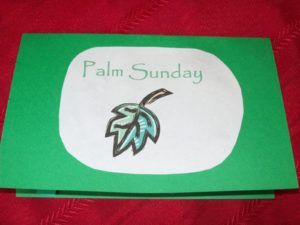 Palm Sunday Lesson