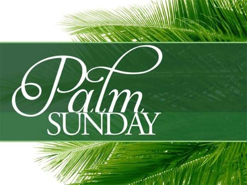 Palm Sunday Poem