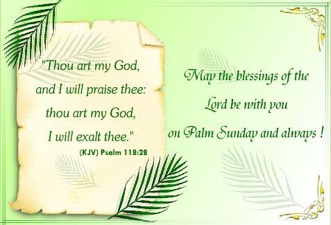Palm Sunday Reading