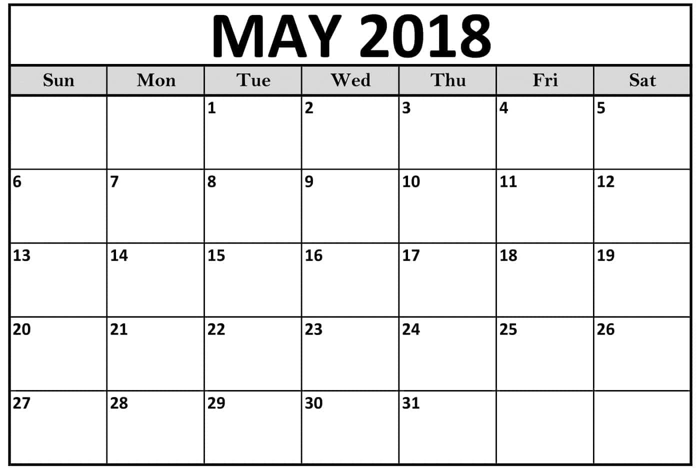 picture regarding Printable May Calendars known as Printable May possibly 2018 Calendar Attractive Quotation Pictures High definition Free of charge
