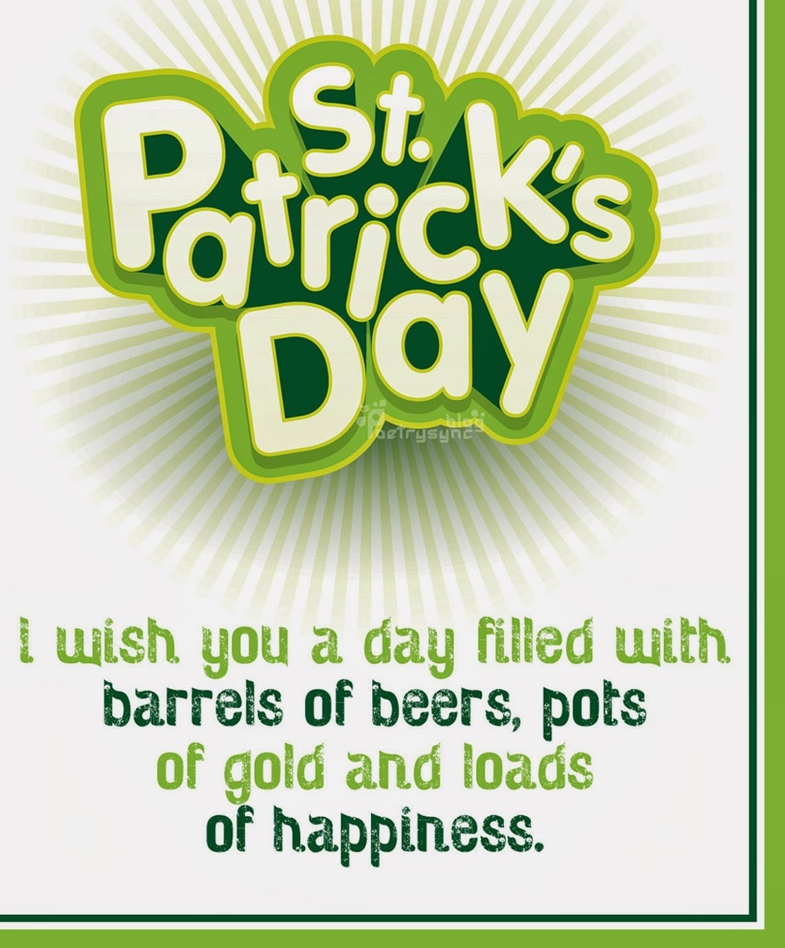 Saint Patrick's Day Saying