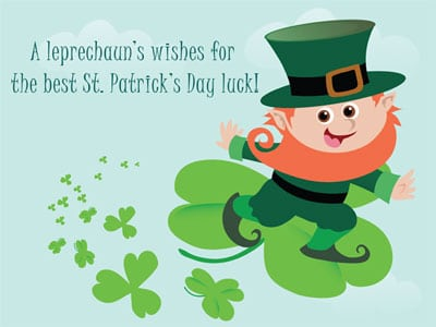 St. Patricks Day Greetings 2018