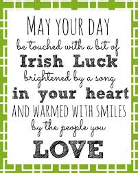 St. Patricks Day Message 2018