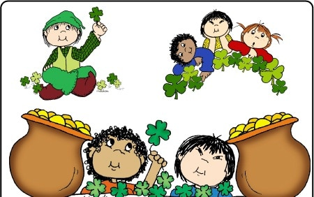 St.Patrick's Day Vintage clipart