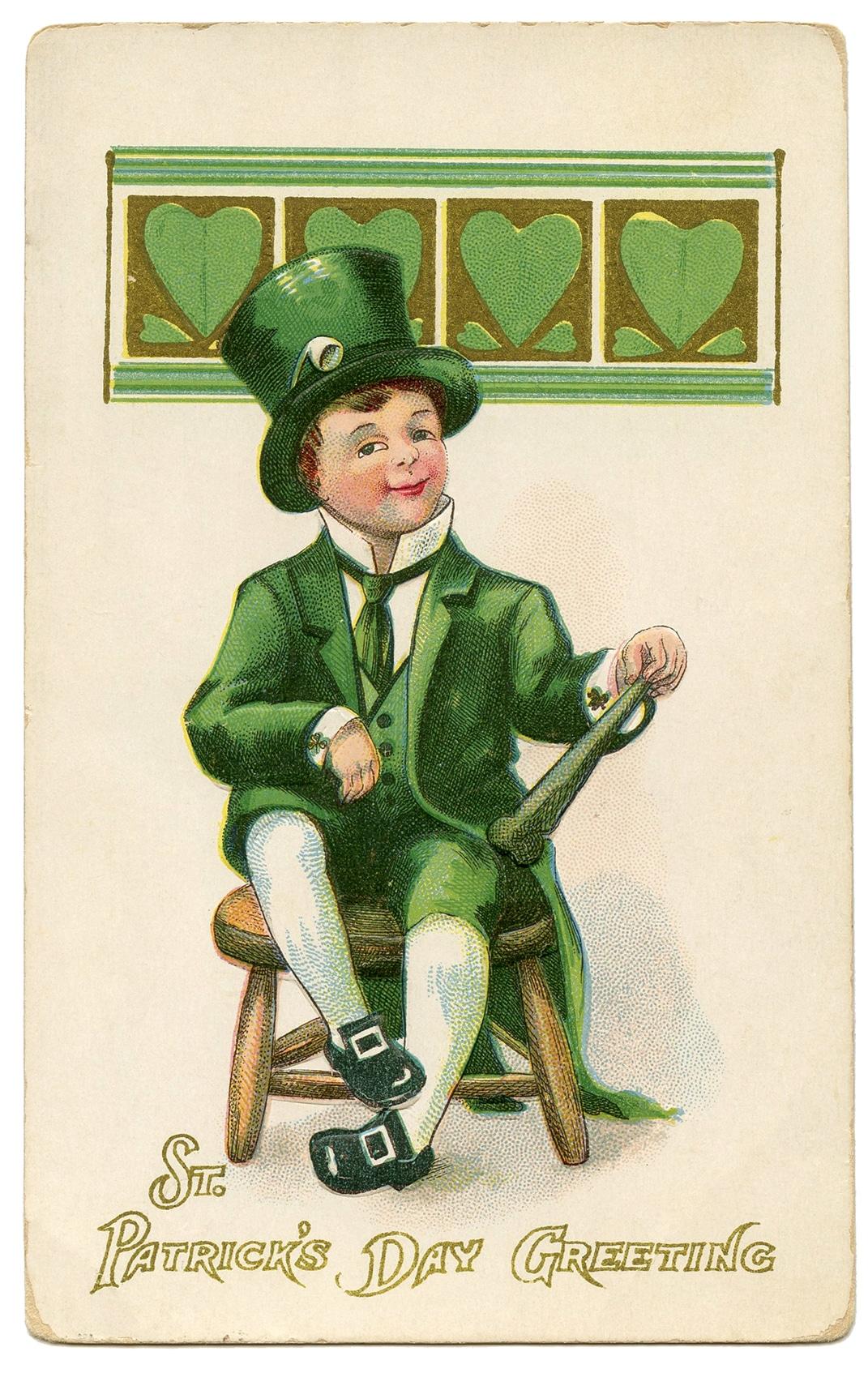 St.Patty's Day Irish Laprechaun Clipart