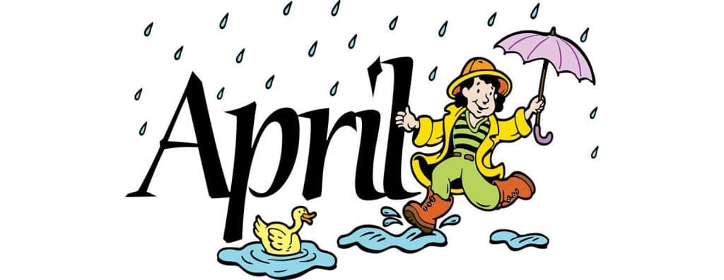 Welcome April Image
