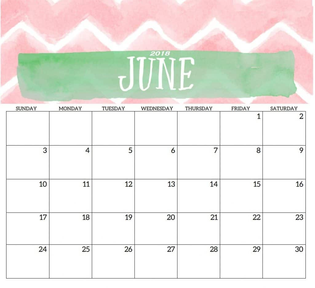 picture regarding Calendar June Printable identified as Calendar June 2018 Printable Estimate Pictures High definition Totally free