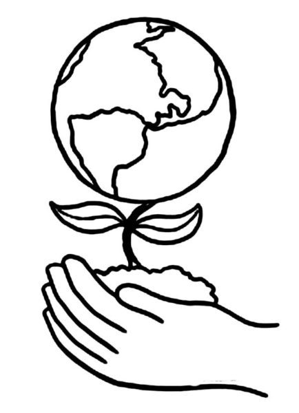 Earth Day Drawing
