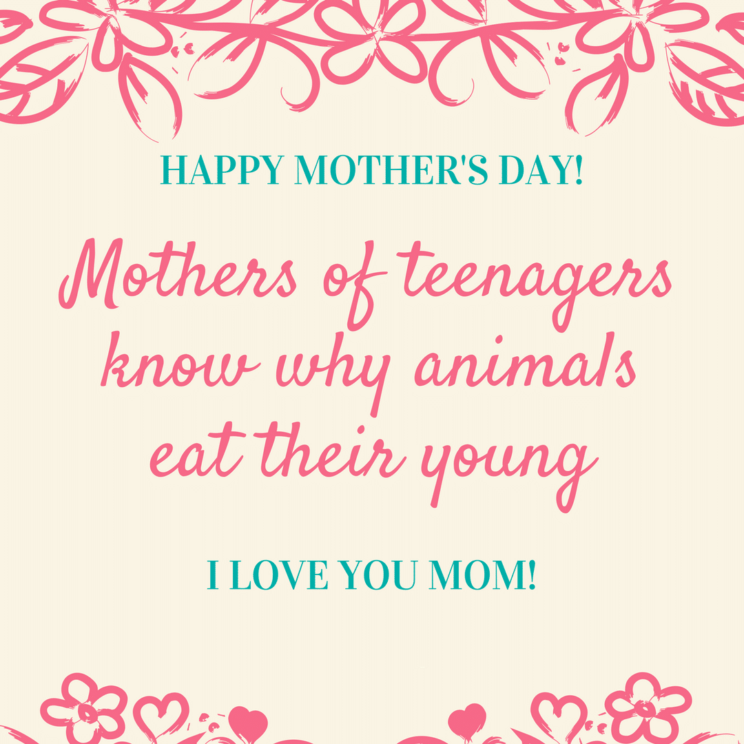 Funny Mother's Day Poem
