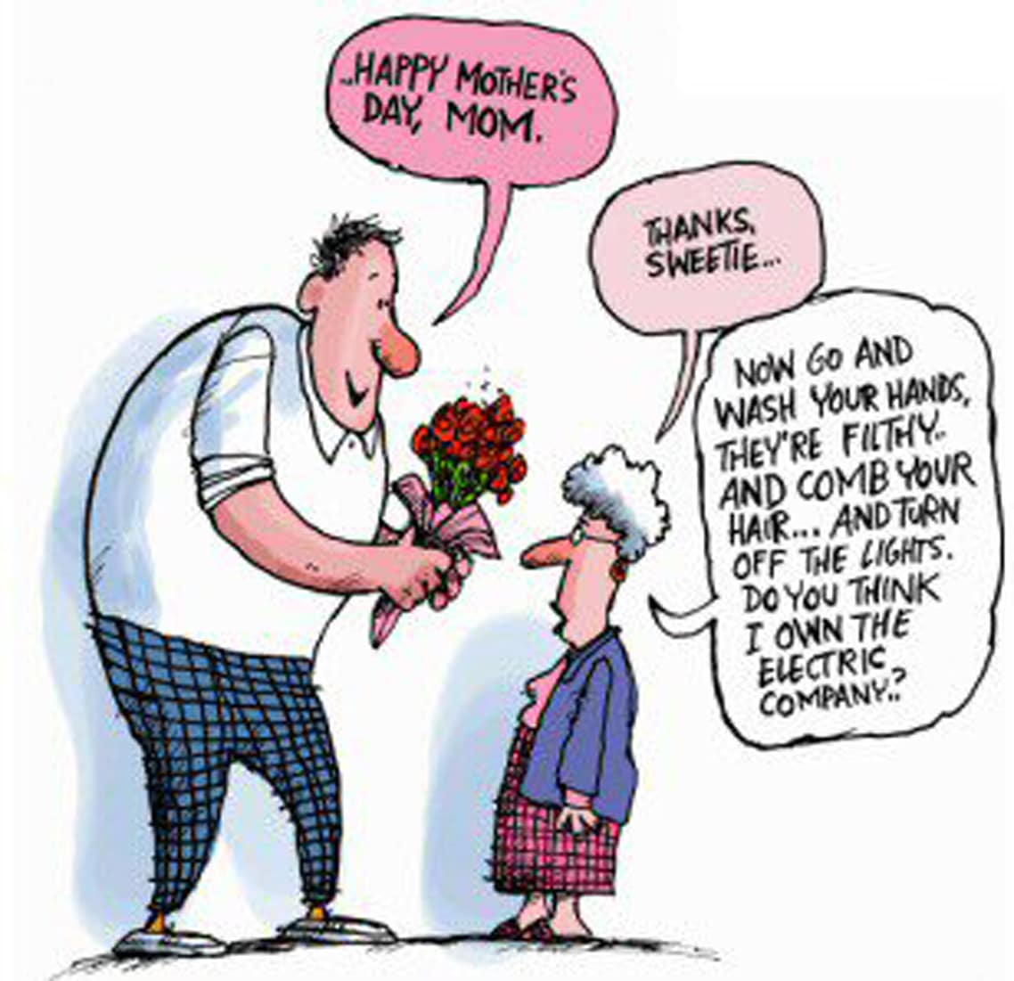 Funny Mother's Day Poem Wishes