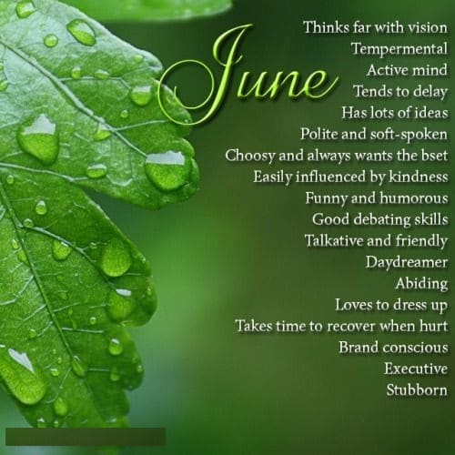 June Birth Sign