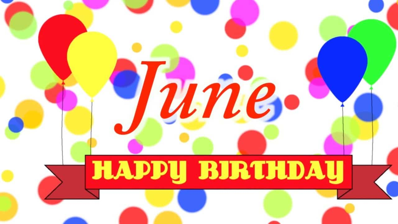 June Birthday Images