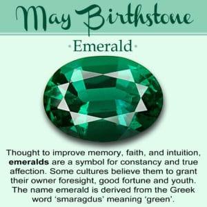 May Birth Stone