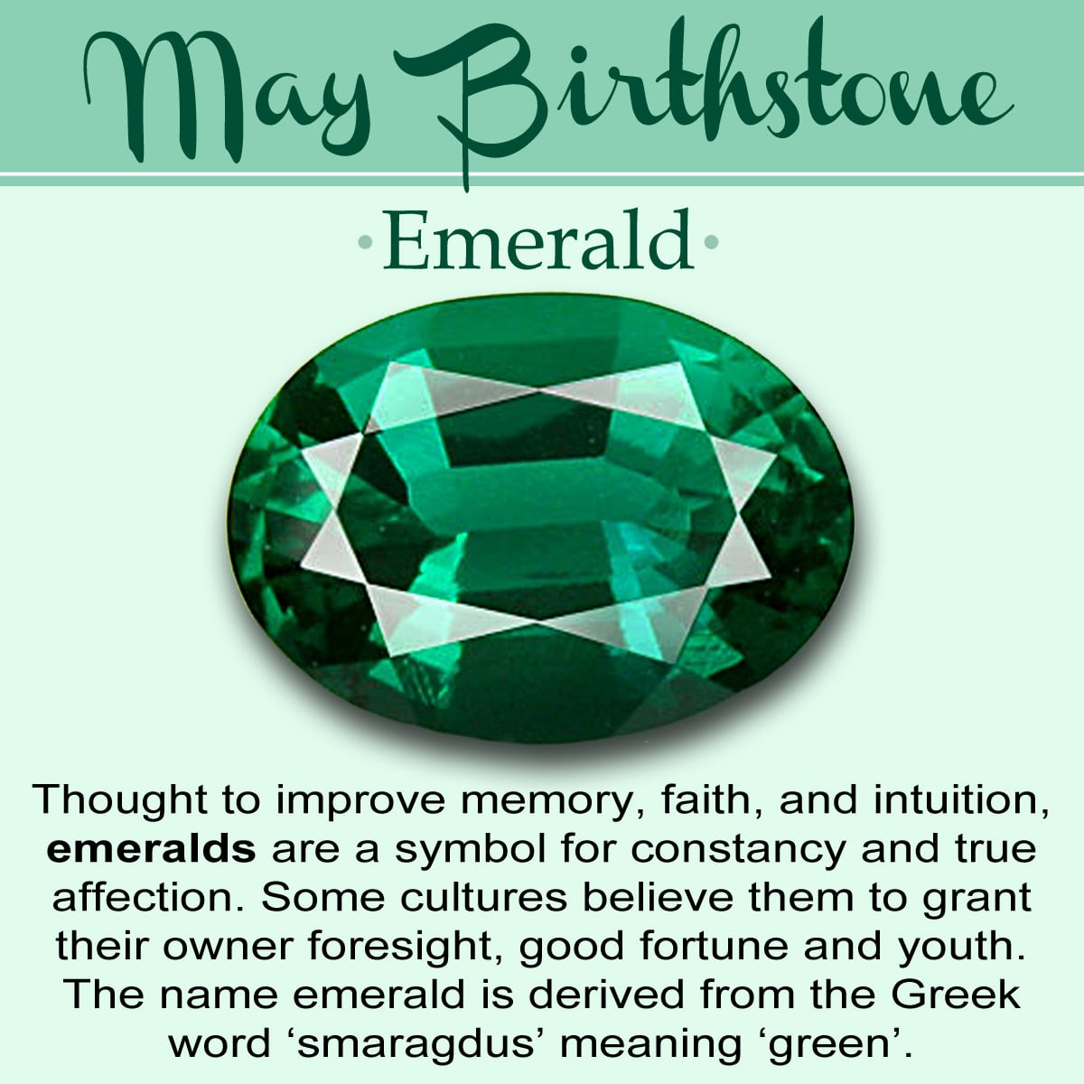 May Birth Stone