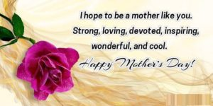 Mother's Day Message From Daughter