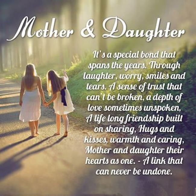 Mother's Day Message From Daughter Love And Care – Quote