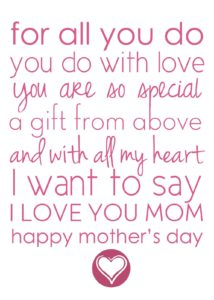 Short Mother's Day Quotes