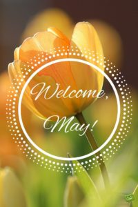 Welcome May Quotes