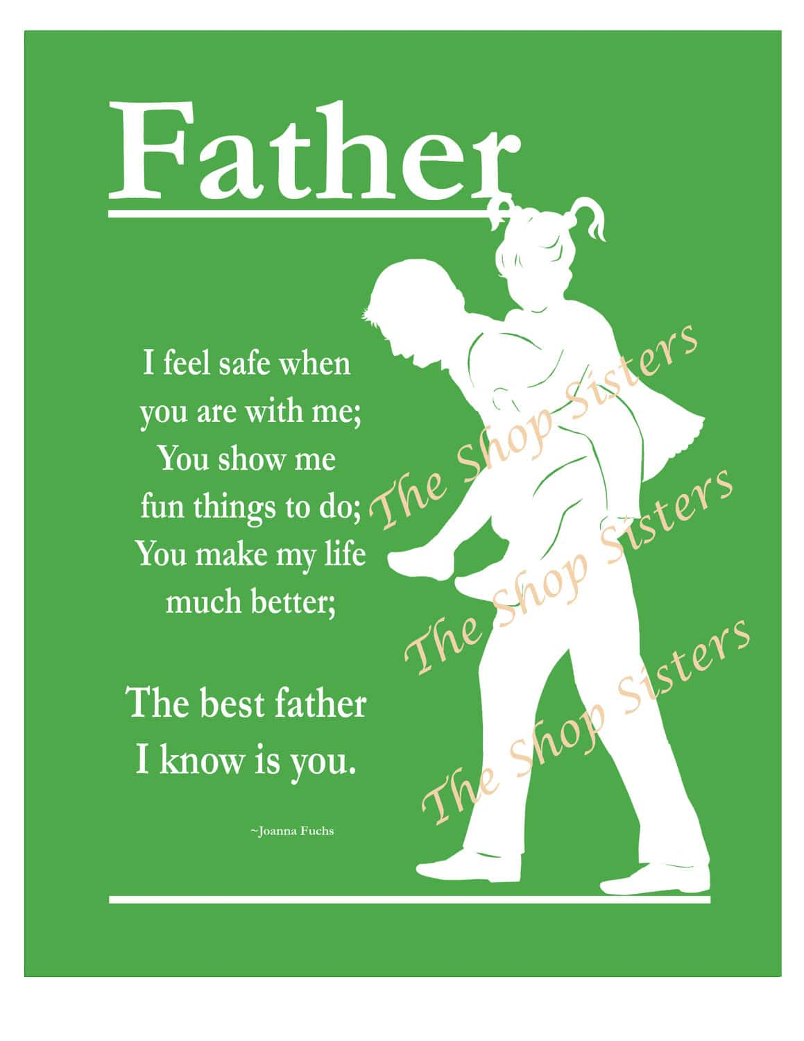 Fathers Day Poem From Daughter