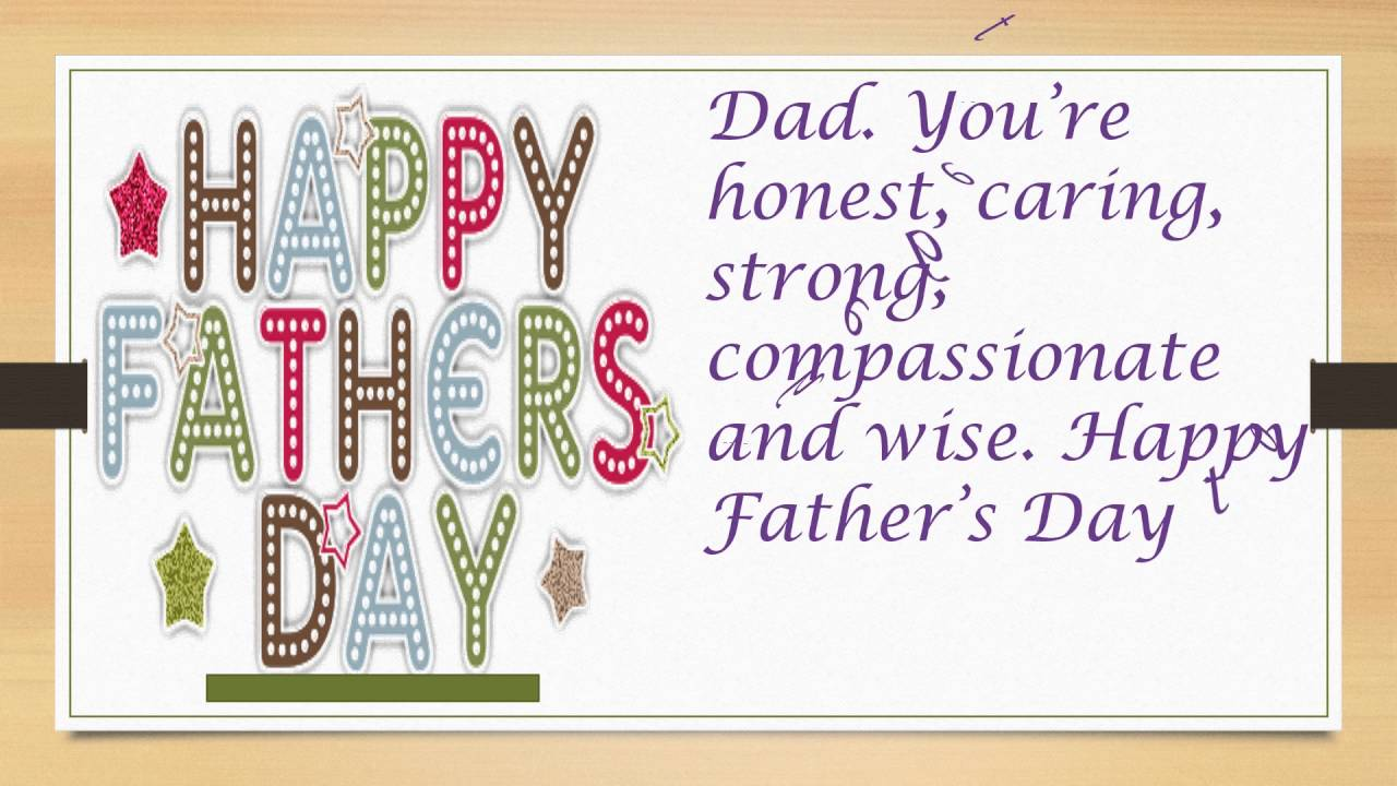 Fathers Day Saying