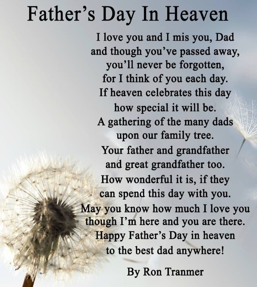 First Fathers Day Poem