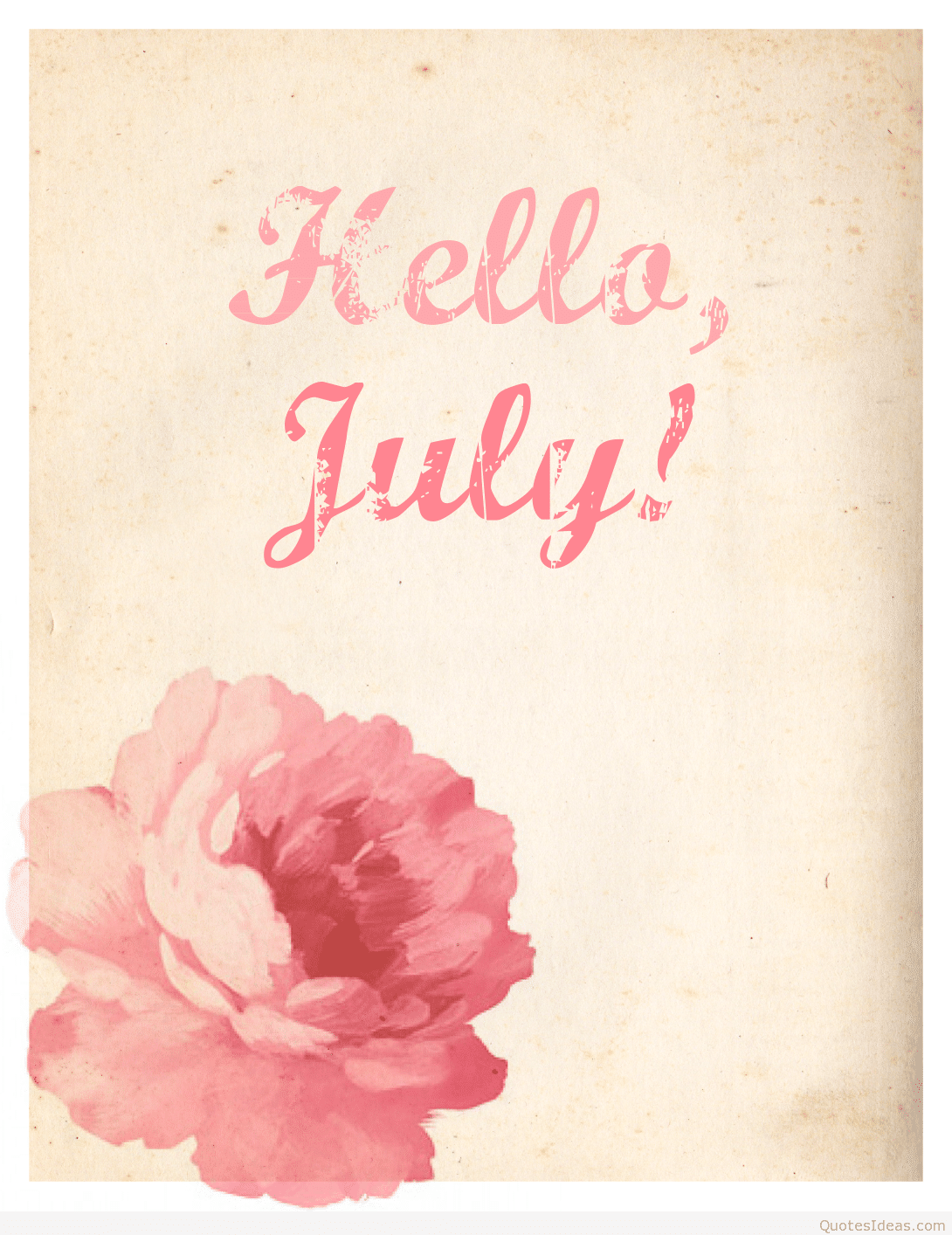 Nice Hello July Quotes