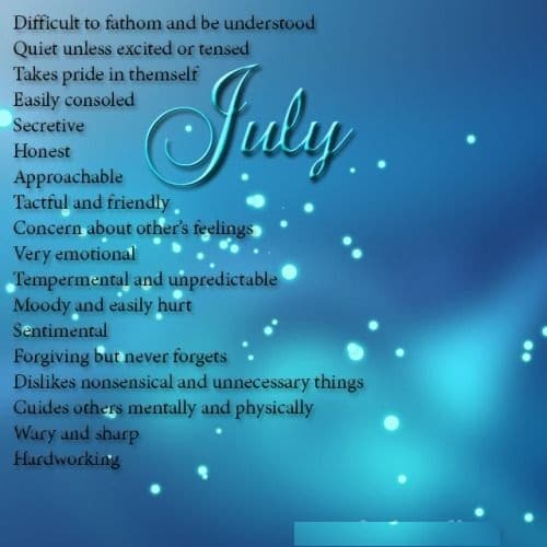July Birthday Images, Quotes