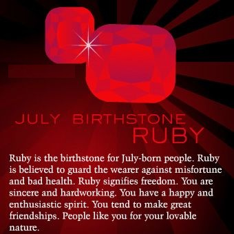 July Birthstone 2018