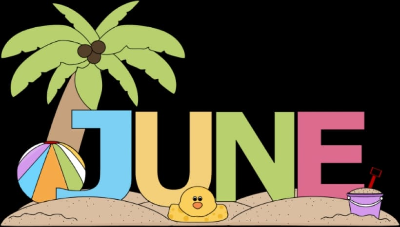 June Clipart