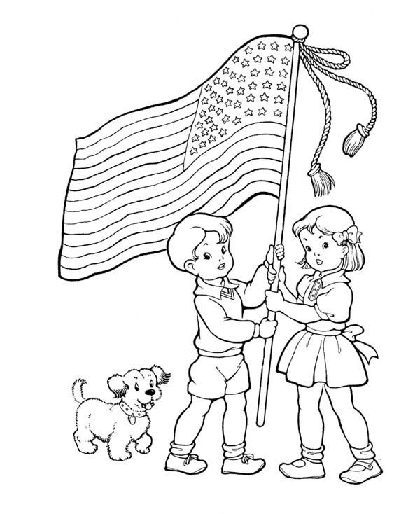 Memorial Day Coloring Pages Activities - Free HD Images