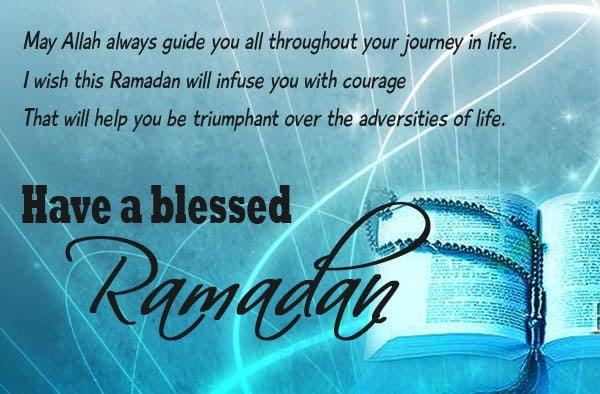 Ramadan Message