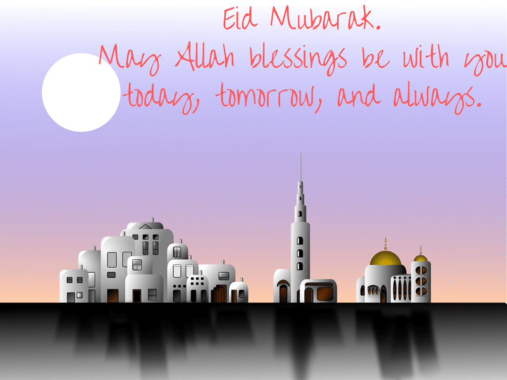 Eid Mubarak Message Free Hd Images